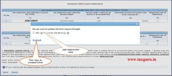 Step 1 User need to Click on E-Verify (Net Banking)