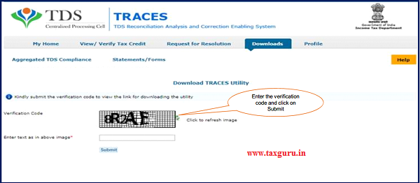Step 8 (Contd.) Input File format to upload transactions is available