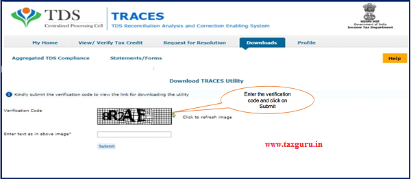 "Step8(Contd.) Input File format to upload transactions is available in ""Requested Downloads"" under ""Downloads"" menu"