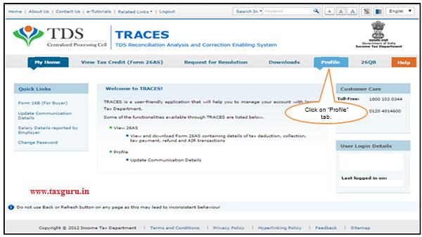 TRACES Profile