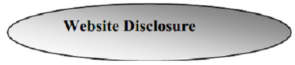 Website Disclosure