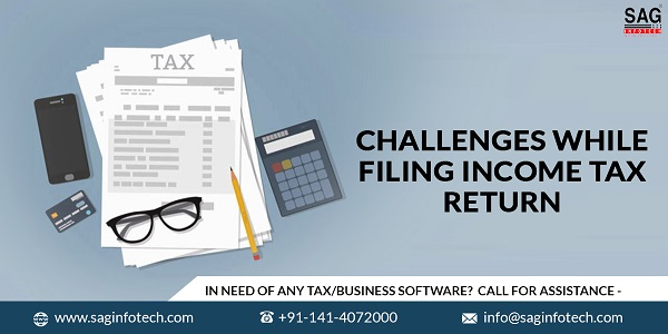 Challenges While Filing ITR