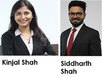 Kinjal Shah And Siddharth Shah