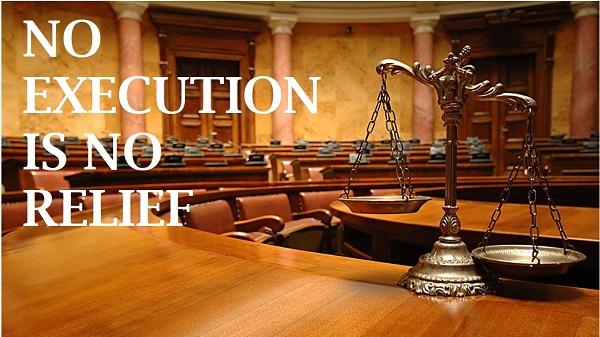 No Execution is no relife