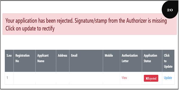 Registration Step 20