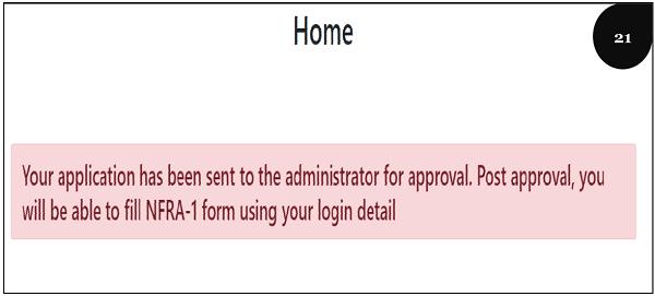 Registration Step 21