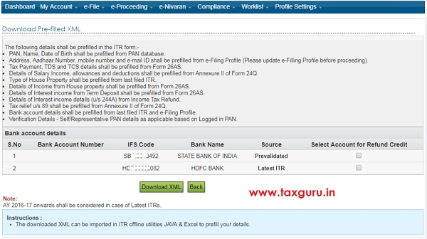 e-Filing portal (if any)