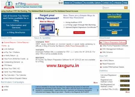 Income Tax e-Filing Portal images 1