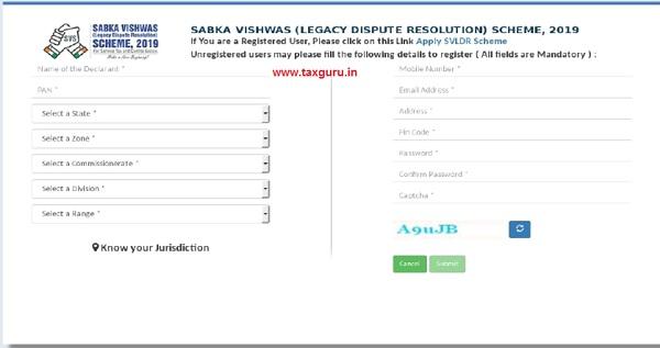 Part-A of SVLDRS Form -1