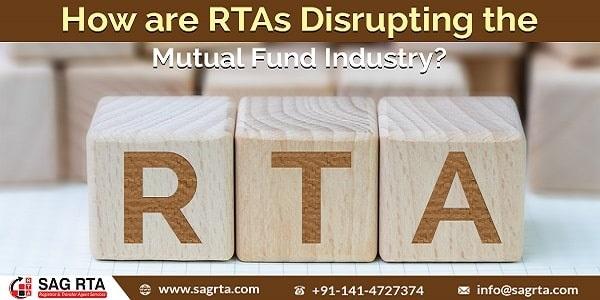 RTAs Disrupting Mutual Fund Industry