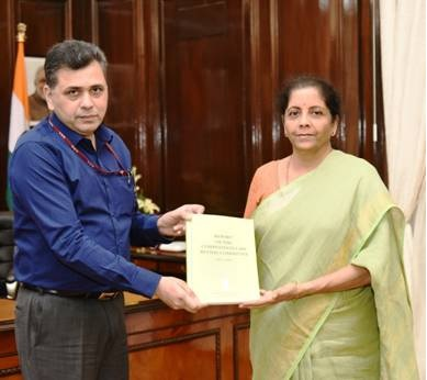 Report of the Competition Law Review Committee to the Union Minister of Finance and Corporate Affairs, Smt. Nirmala Sitharaman