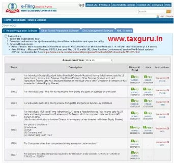 extract an ITR utility images 1