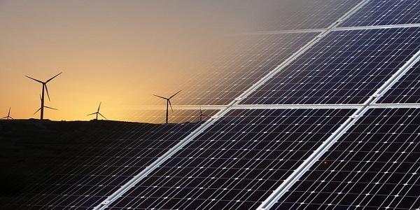 renewable energy environment wind solar green
