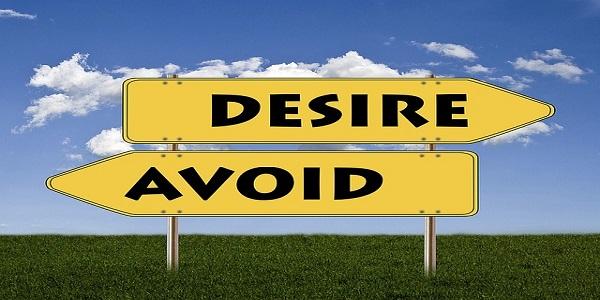 signs desire avoid positive negative opposites