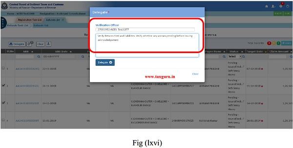 Delegation and Verification Fig (lxvi)