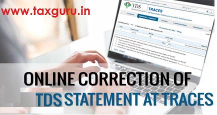 Online Correction of TDS