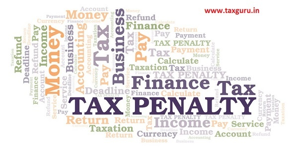 Penalties Under Income Tax Act 1961
