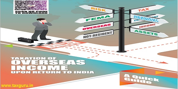 Taxation of Overseas Income upon Return To India