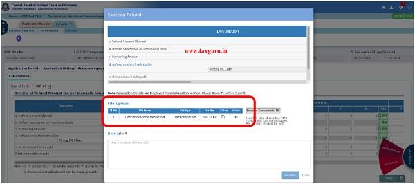 Upload Document Fig (lix)
