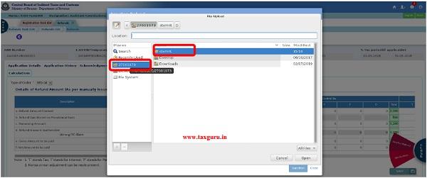 Upload Document Fig (lvi)