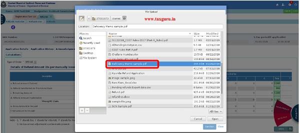 Upload Document Fig (lviii)