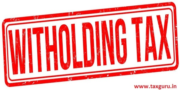 Witholding tax