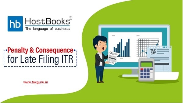 Penalty & Consequence for Late Filing ITR-blog