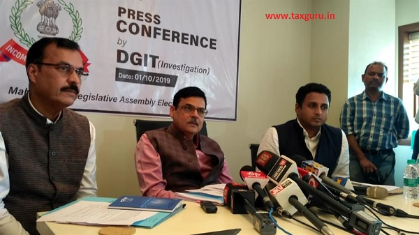 Press Conference by DGIT part-2