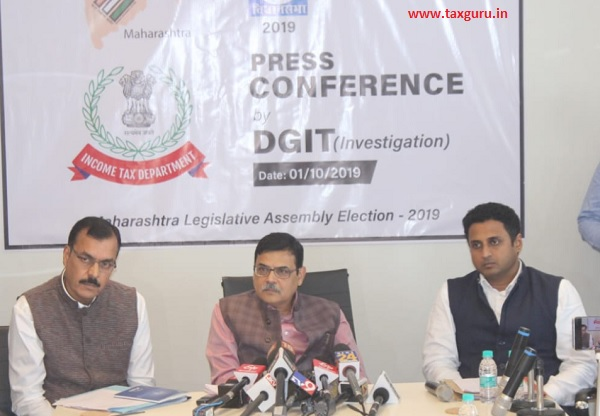 Press Conference by DGIT