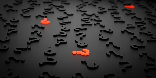 question mark important sign problem search help
