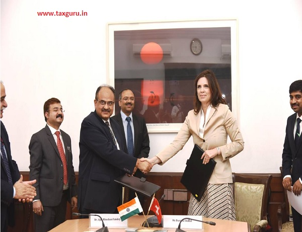 To further this cooperation, Revenue Secretary Dr Ajay Bhushan Pandey
