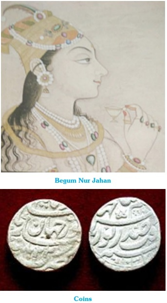 Begum Nur Jahan and Coins