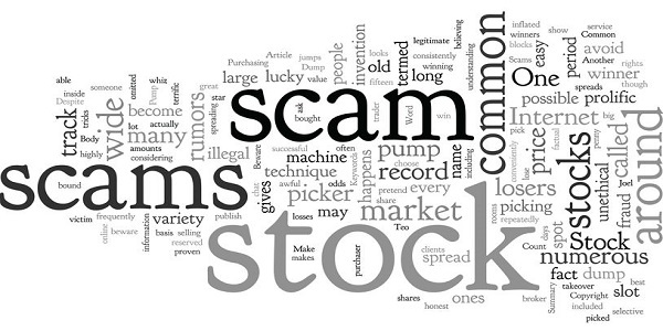 Beware Of Stock Scams