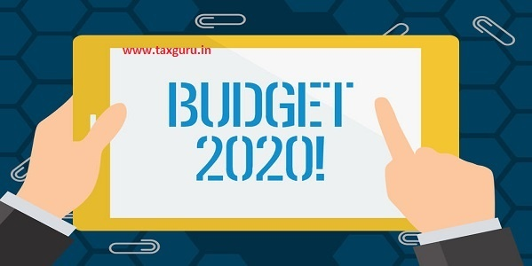 Conceptual hand writing showing Budget 2020. Business photo showcasing estimate of income and expenditure for next or current year Businessman Hand Holding and Pointing Colorful Tablet Screen.