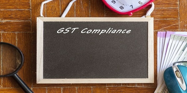 Concept image of GST Goods and Services Tax compliance in india
