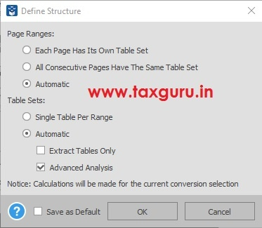 Convert PDF tables to Excel to Analyze Finances