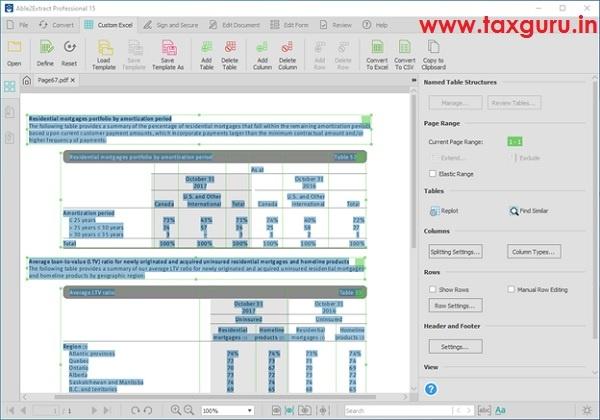Custom Excel