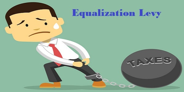 Equalization Levy - businessman and tax burden.