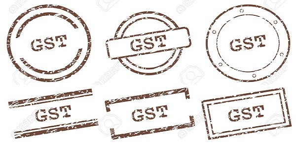 Goods and Services Tax Gst stamps
