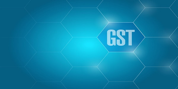 Goods and services tax- GST business network diagram