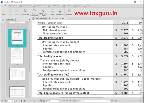 Organize and Merge PDFs by Tax Year