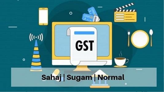 Simplified GST Return Sahaj Sugam Normal