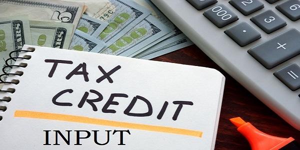 input tax credit ITC