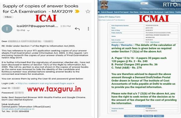 ICAI and ICMAI