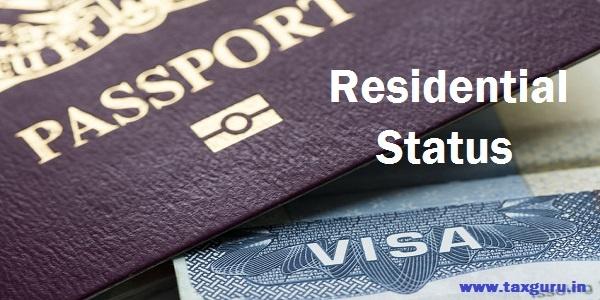 Residential Status Passport Visa