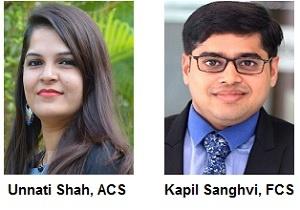 Unnati Shah, ACS And Kapil Sanghvi, FCS