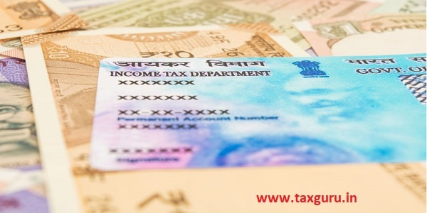 permanent account number (PAN Card)