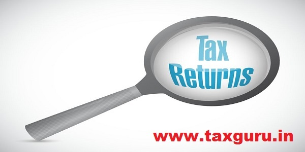 tax returns magnify glass sign concept illustration design graphic