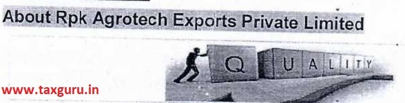 About Rpk Agrotech Exports Private Limited