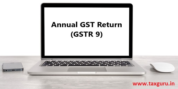 Annual GST Return (GSTR 9)